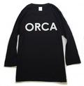 ORCA七分袖Tシャツ_BLK