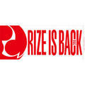 RIZE TOUR 2016 -RIZE IS BACK-  RIZE IS BACK フェイスタオル/ジャガード織
