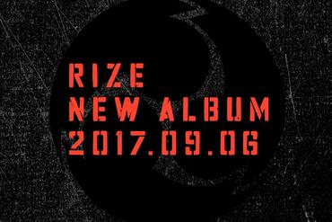 RIZE NEW ALBUMリリース決定!